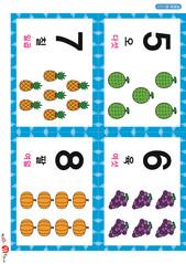 2.숫자 카드(이미지)