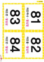 21.숫자 카드(81-84)