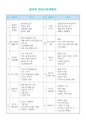 방과후연간교육계획안