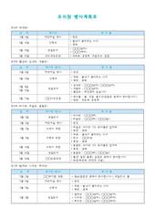 5월행사계획표