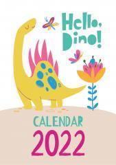 Hello, Dino! 2020 CALENDAR