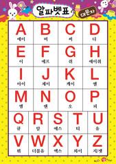 알파벳 표(대문자) - A-Z 2
