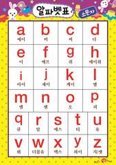 알파벳 표(소문자) - a-z 2