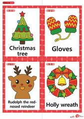 영어 단어 카드 크리스마스(A형) 07