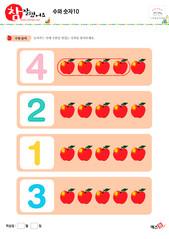 수와 숫자 - 사과