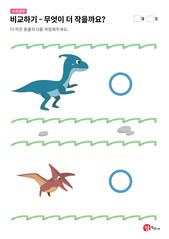 공룡과 익룡 중 무엇이 더 작을까요?