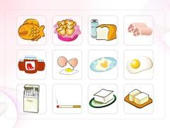 음식, 계란, 재료, 달걀