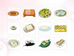 음식, 김밥, 제사음식, 떡