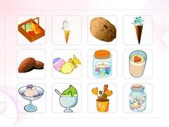 음식, 아이스크림, 초콜렛, 열쇠