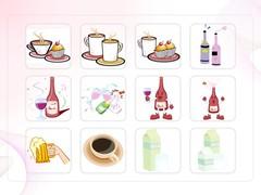 음식, 커피, 우유, 와인