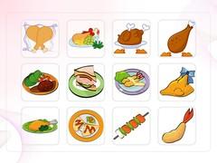 음식, 통닭, 패스트푸드, 치즈