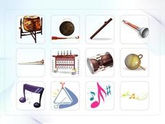 음악, 음표, 의학, 의료