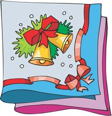 양초,리본,크리스마스장식,종,크리스마스,장식물