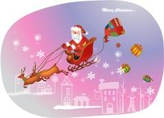 선물을 나눠주는 산타클로스2