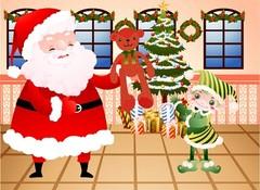 선물을 나눠주는 산타클로스8
