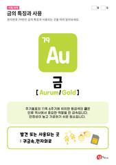79.금(Au)의 특징과 사용