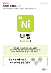 28.니켈(Ni)의 특징과 사용