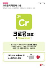 24.크로뮴(Cr)의 특징과 사용