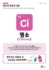 17.염소(Ci)의 특징과 사용
