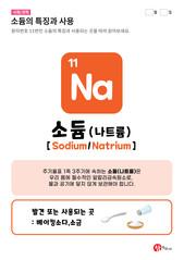 11.소듐(Na)의 특징과 사용